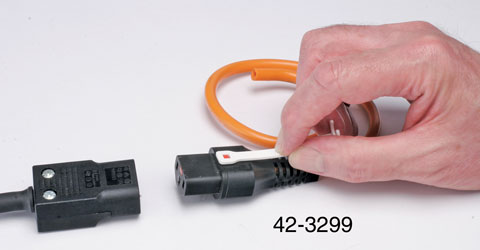 AC MAINS POWER CORDSET DE-LATCHING TOOL For IEC-Lock connectors