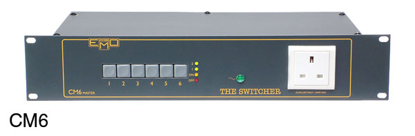 EMO MASTER SWITCHER UNIT CM6