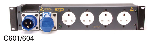 EMO C601 POWER DISTRIBUTION PANEL