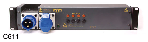 EMO C611 POWER DISTRIBUTION PANEL