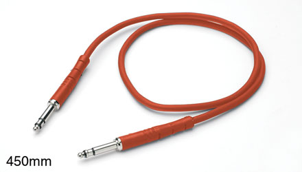 REAN BANTAM PATCHCORD Moulded, heli screen, economy, 600mm Red