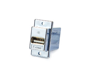 L-COM ECF504-UABS PANEL MOUNT KEYSTONE COUPLER USB 2.0 A-female (front) to B-female (rear), screened