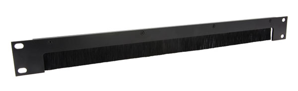 CANFORD RACKBRUSH Cable access brush strip 1U, black