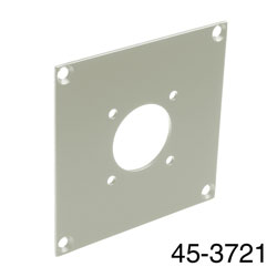 CANFORD UNIVERSAL MODULAR CONNECTION PLATE 1x MIL26, grey