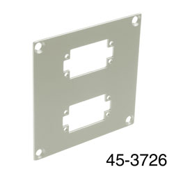 CANFORD UNIVERSAL MODULAR CONNECTION PLATE 2x EDAC20, grey