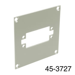 CANFORD UNIVERSAL MODULAR CONNECTION PLATE 1x EDAC38, grey