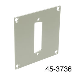 CANFORD UNIVERSAL MODULAR CONNECTION PLATE 1x D-sub25, grey