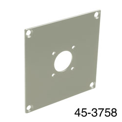 CANFORD UNIVERSAL MODULAR CONNECTION PLATE 1x N type, grey