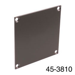CANFORD UNIVERSAL MODULAR CONNECTION PLATE Blank, dark grey