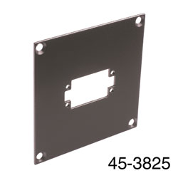 CANFORD UNIVERSAL MODULAR CONNECTION PLATE 1x EDAC20, dark grey