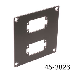 CANFORD UNIVERSAL MODULAR CONNECTION PLATE 2x EDAC20, dark grey
