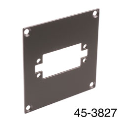 CANFORD UNIVERSAL MODULAR CONNECTION PLATE 1x EDAC38, dark grey