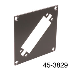 CANFORD UNIVERSAL MODULAR CONNECTION PLATE 1x EDAC56, dark grey