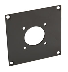 CANFORD UNIVERSAL MODULAR CONNECTION PLATE 1x Hirose JRC21 CCZ-A, dark grey
