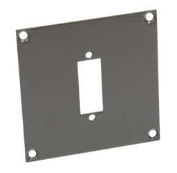 CANFORD UNIVERSAL MODULAR CONNECTION PLATE 1x DVI, dark grey