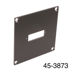 CANFORD UNIVERSAL MODULAR CONNECTION PLATE 1x SC fibre coupler, dark grey