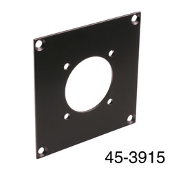 CANFORD UNIVERSAL MODULAR CONNECTION PLATE 1x Speakon NLT or EP/AP, black
