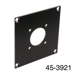 CANFORD UNIVERSAL MODULAR CONNECTION PLATE 1x MIL26, black
