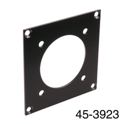 CANFORD UNIVERSAL MODULAR CONNECTION PLATE 1x Tourline25, black