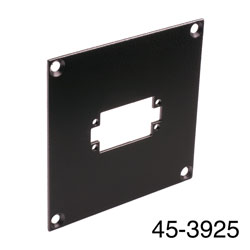 CANFORD UNIVERSAL MODULAR CONNECTION PLATE 1x EDAC20, black