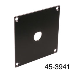 CANFORD UNIVERSAL MODULAR CONNECTION PLATE 1x BNC, black