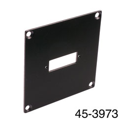 CANFORD UNIVERSAL MODULAR CONNECTION PLATE 1x SC fibre coupler, black