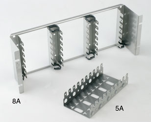 KRONE MOUNTING FRAME 5A 5 module, 11mm deep