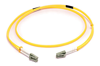LC-LC SM DUPLEX OS2 9/125 Fibre patch cable 20m, yellow