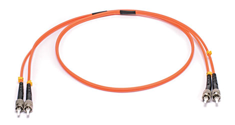 ST-ST MM DUPLEX OM2 50/125 Fibre patch cable 20m, orange