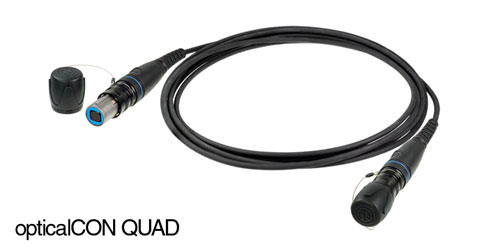 NEUTRIK NKO4M-A-2-100 OPTICALCON ADVANCED QUAD Cable assembly MM, 100m, CDR310 drum