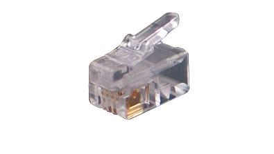 Rj11 Plug 6p6cf