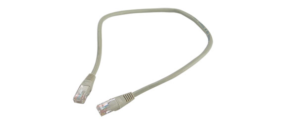 CAT5E UNSCREENED PATCHCORD RJ45-RJ45-1m-Yellow