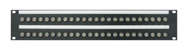 CANFORD BNC TERMINATION PANEL 2U, 2x24, 12G 4K, black