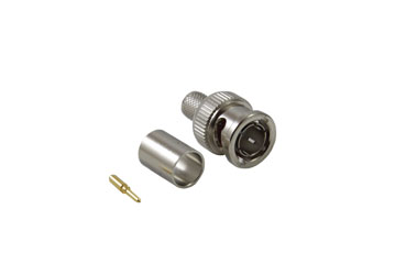 COAX CONNS 10-005-B36-FC BNC 3G HD Male cable, crimp, 75 ohm, group Y