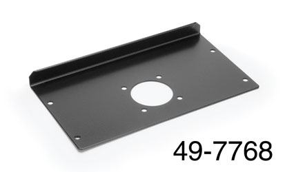 CANFORD STAGEBOX End plate, 80mm, punched for Tourline 37 pin connector