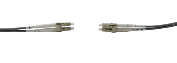 LC-LC MM DUPLEX OM1 62.5/125 Fibre patch cable 0.5m, grey