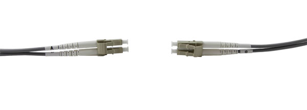 LC-LC MM DUPLEX OM1 62.5/125 Fibre patch cable 2.0m, grey