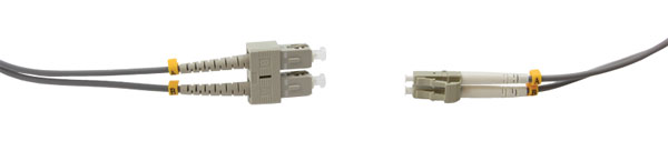 SC-LC MM DUPLEX OM1 62.5/125 Fibre patch cable 2.0m, grey