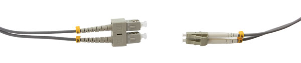 SC-LC MM DUPLEX OM1 62.5/125 Fibre patch cable 5.0m, grey