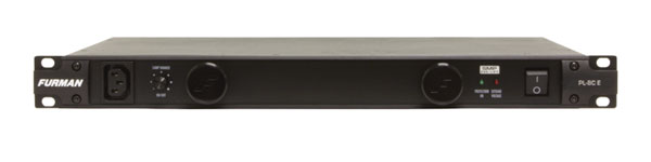 FURMAN PL-8C E POWER CONDITIONER 10A, 11 outlets, rack lights