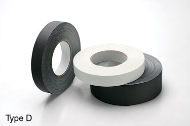 GAFFER TAPE Type D, white, 25mm (reel of 50m)