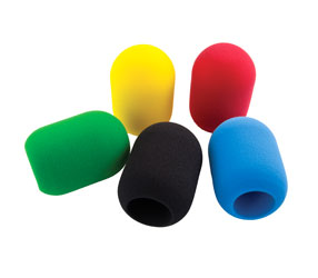 CANFORD WINDSHIELD C50 Multi-colour pack - black, red, blue, green and yellow (set of 5)