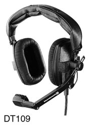 CANFORD LEVEL LIMITED HEADSET DT109 93dBA, wired mono, with XLR 4-pin female