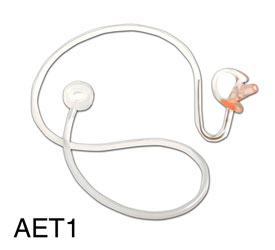 CANFORD AET1 ACOUSTIC EARTUBE Transparent, with medium right earmould, no clip