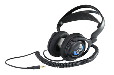 CANFORD LEVEL LIMITED HEADPHONES DMH620 88dBA, wired stereo, 3.5mm plug, s/s coiled cable