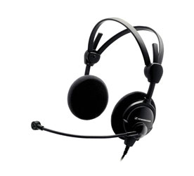CANFORD LEVEL LIMITED HEADSET HMD46-31 88dBA, wired mono, coiled cable, XLR 4/F