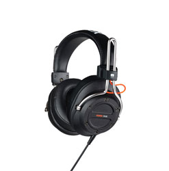 FOSTEX TR-80 (250) HEADPHONES Closed back, 250 ohm, 3.5mm jack, 6.35mm adapter, detachable 3m cable