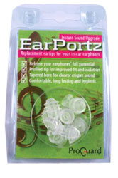 PROGUARD EARPORTZ Large (pack of 4 pairs)