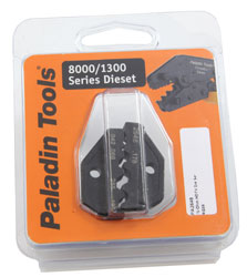 PALADIN 2648 Die set for Amphenol BNC HD group X and Mini BNC HD group X; Belden 1855A and 1855ENH