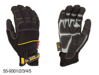 DIRTY RIGGER COMFORT FIT GLOVES Full handed, small (pair)